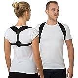 Geradehalter zur Haltungskorrektur für Frauen und Männer – Haltungstrainer zur Unterstützung für den oberen Rücken – gegen Nacken- und Schulterschmerzen - Rückenbandage für Perfekte Haltung - Rückenschoner - Rückenstabilisator