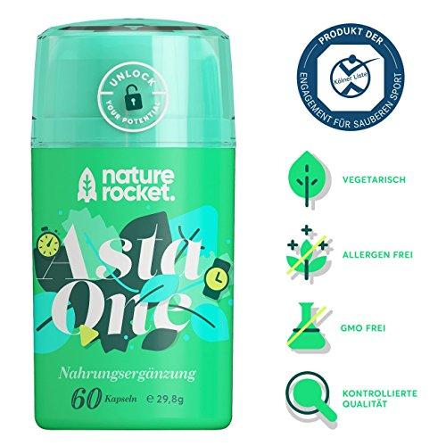 Natürliches Premium Astaxanthin 4mg Antioxidans Nahrungsergänzungsmittel 60 Kapseln mit je 88mg Mikroalge Vitamin C, E
