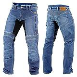 Trilobite Forcefield PARADO Herren Motorrad Hose lang Jeans Schutz verstärkt, 3066114, Größe 42/58