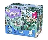bella baby Happy Windeln Größe.3 Midi, 1er Pack (1 x 144 Stück)