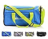 meteor Moderne Sporttasche 20L für Kinder Tasche Schwimmbäder Gym Schultertaschen Reisetasche Urlaubstasche Yoga Fitnesstasche Gymnastik Riementasche Bag Sport Taschen Fußball Kindertaschen