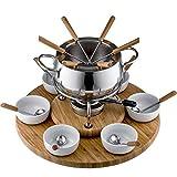 Style'n Cook Swiss Fondue Edelstahl Fondue-Set Alexa 28-teilig