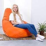 Bean Bag Bazaar Outdoor Sitzsack - 118cm x 70cm, Wasserabweisend Außen Sitzsack