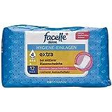 facelle diskret Hygiene-Einlagen extra 1 x 12 Stück bei mittlerer Blasenschwäche, aktiver Geruchsschutz, sicherer Auslaufschutz, optimale Passform Medizinprodukt