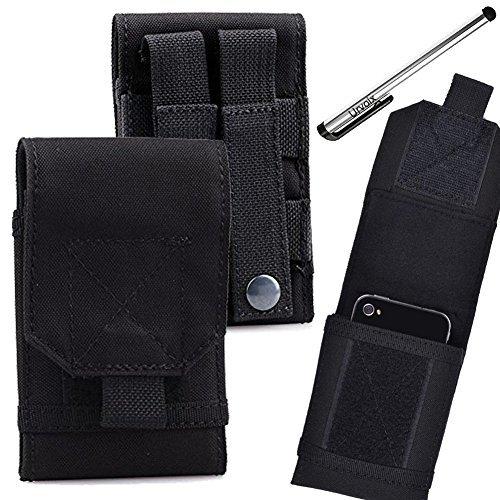 urvoix (TM) schwarz Armee Camo Tasche für Handy Gürteltasche Holster Schutzhülle Größe M