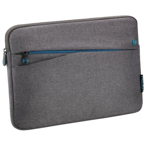 PEDEA Tablet PC Tasche 'Fashion' für 12,9 Zoll (32,8cm) Tablet Schutzhülle Tasche Etui Case mit Zubehörfach und Schultergurt, grau