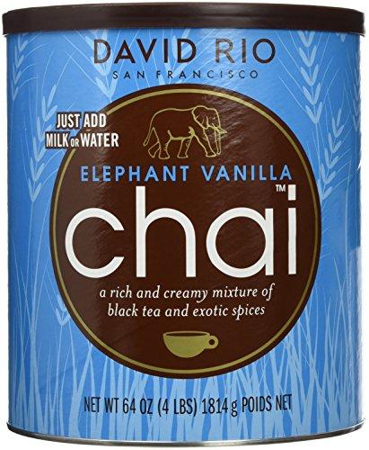 David Rio - Elephant Vanilla Chai, Pappwickeldose (1 x 1.816 kg)