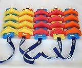 Schwimmgürtel Kinder mit Sicherheitsverschluß 60cm Länge, verstellbarem Gurtband und abnehmbaren Plastazote-Schwimmern. Geeignet für Schwimmtraining. Nur so viel Hilfe wie nötig!