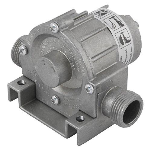 wolfcraft Pumpe 3000 l/h, Metallgehäuse, Schaft 8 mm, 2200000