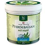 SwissMedicus Pferdebalsam mit Hanf kühlend - Pferdesalbe 500 ml