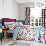 Catherine Lansfield Salisbury Bettwäsche-Set für Einzelbett, pflegeleicht, Mehrfarbig