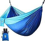 Ultraleicht Outdoor Hängematte - Unterstützt bis zu zwei Personen oder 400 Lbs - Für Reise Garten Balkon Strand Camping Hängematte - von Utopia Home