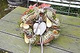 dies & das Türkranz Shabby Style, ø 28 cm - Frühling - Sommer - Herbst - Willkommensgruß