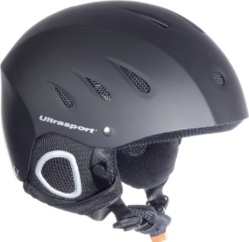 Ultrasport Skihelm Race Edition, schwarz matt, XL, 331300000028