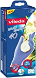 Vileda Multi Sensitive latexfreier Einmalhandschuhe Größe M/L, 80er Vorratspack  (2 x 40 Stück)