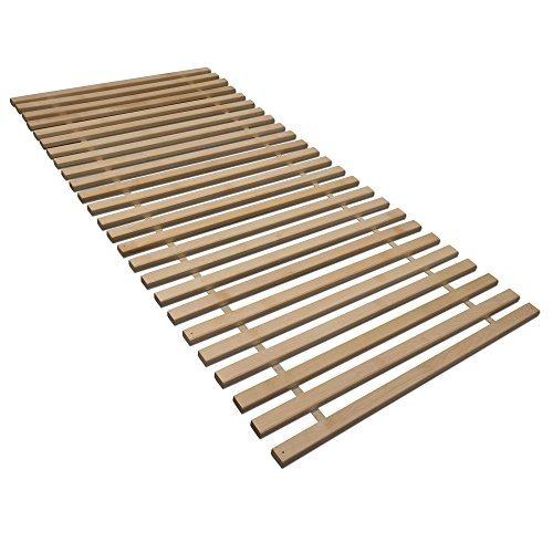 Madera Rollrost XXL mit 25 extra stabilen Leisten aus massiven Birkenholz, belastbar bis ca. 280 kg - Grösse 90x200