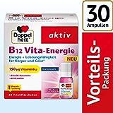 Doppelherz B12 Vita-Energie Trinkfläschchen - Energie und Leistungsfähigkeit für Körper und Geist - Vitamin B12 zur Verringerung von Müdigkeit und Erschöpfung - 30 x 10 ml Fläschchen