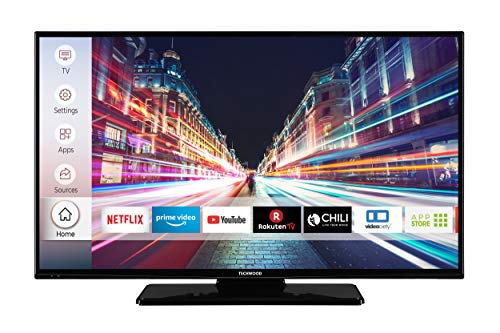 Techwood F40T52C 102 cm (40 Zoll) Fernseher (Full HD, Triple-Tuner, Smart TV, Prime Video)