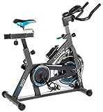 Indoor Cycle Indoorcycling mit Pulsmessung Fitnessbike Speed Bike Computer Schwungrad 18 kg einstellbarer Widerstand Sattel & Lenker verstellbar