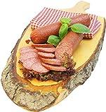 Salami am Stück vom Bautzner Metzgermeister herzhaft rauchig durch lange Reifung