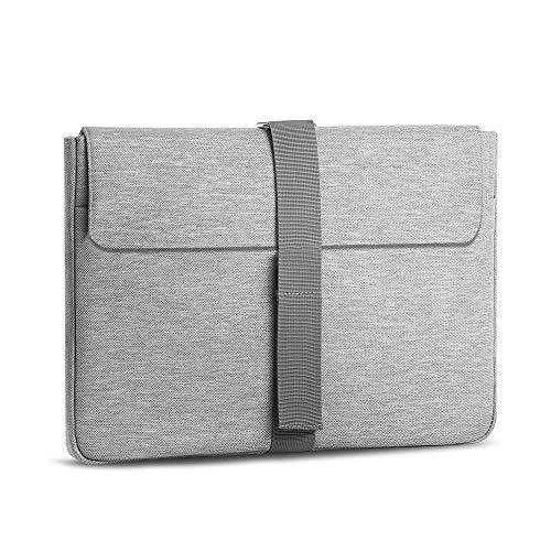 A Tailor Bird Laptophülle, Laptoptasche 15,6 Zoll Ultrabook Notebook Handtasche Schutzhülle stoßfest Notebooktasche Laptop Schutztasche(Grau)