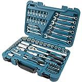 HYUNDAI Werkzeugset K70 (70-teiliger Werkzeugkasten aus Cr-V-Stahl, 72-Zahn Umschaltknarren, SUPER LOCK Steckschlüsseln, Werkzeugkoffer, Steckschlüsselsatz, Profiwerkzeug, Ratschenset, Knarrenkasten)