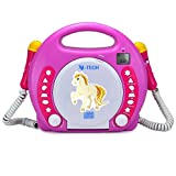 X4-TECH Bobby Joey MP3 Kinder CD-Player/ pink
