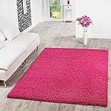 T&T Design Shaggy Teppich Hochflor Langflor Teppiche Wohnzimmer Preishammer Versch. Farben