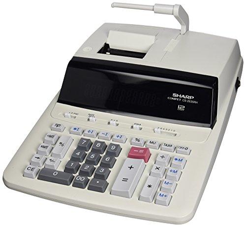 SHARP CS2635RHGYSE Tischrechner 12-stellig grau 250x345x87