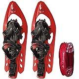 Inook Schneeschuhe Allround VXM mit Steighilfe und Ratschenbindung, Schuhgröße EU 36-47