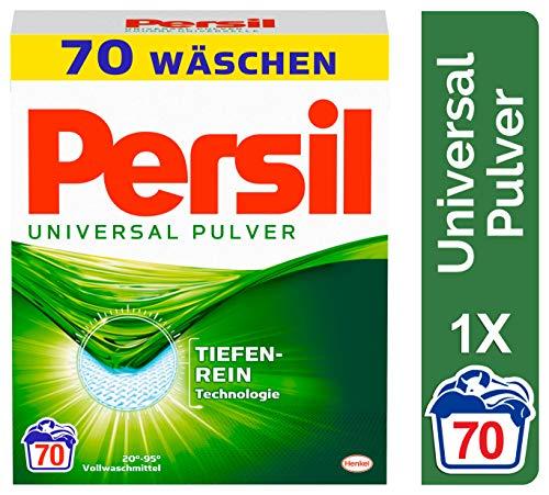 Persil Universal Pulver, Vollwaschmittel mit Tiefenrein-Technologie (1 x 70 Waschladungen)