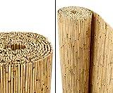 Schilfrohrmatten Premium'Beach', 140 hoch x 600cm breit, ein Produkt von bambus-discount - Sichtschutz Matten Windschutzmatten …
