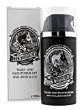 John Whiskers Tages- und Nachtcreme - Made in Germany - mit Hyaluron und Q10 - for Men