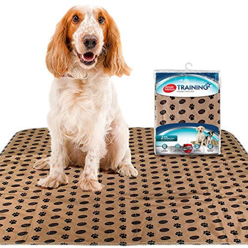 simple solution 11443-6p 2er Pack waschbare Pads für Hunde