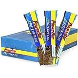 Protein Riegel mit nur 107 Kcal – Low Sugar Eiweiß-Riegel, Fitness-Riegel mit Ballaststoffen – 30 x 35g Chocolate-Brownie