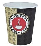ecolle 500 Coffee TO GO Becher 200 ml Kaffeebecher Papbecher Pappbecher Coffeebecher