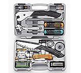 IceToolz – Profi-Werkzeugkoffer, Werkzeuge aus CR-MO-CNC-Stahl für Fahrrad