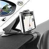 ZOORE Handyhalterung Auto Kfz Armaturenbret mit Premium Toter Winkel Spiegel Smartphone GPS Clip-Halterung für iPhone X 8 7 Plus Galaxy Hinweis 8 S9 S8 Plus S7 Edge und 3-7 Zoll Smartphones (Black)