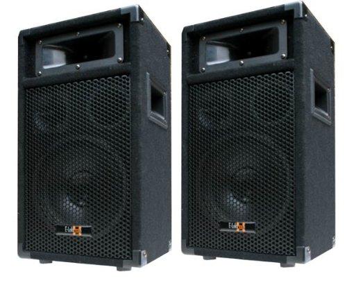 2x 400W DJ PARTY Lautsprecher Boxen Paar - 8' Bass - E-Lektron PW20