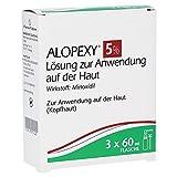 Alopexy 5% Lösung, 3x60ml