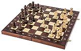Spiel Senator - 3 in 1 - Schach - Backgammon - Dame - 42 x42 cm