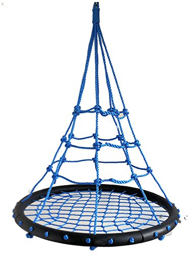 Unbekannt Nestschaukel Spyder Nest Swing Bubble Blue Netzschaukel Kinderschaukel Tragkraft 200 kg