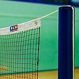 Badminton Netz, Turnierqualität, 6 Meter oder 7,3 Meter breit, 2 Jahre Garantie! [Net World Sports] (Badmintonnetz 7.3m)