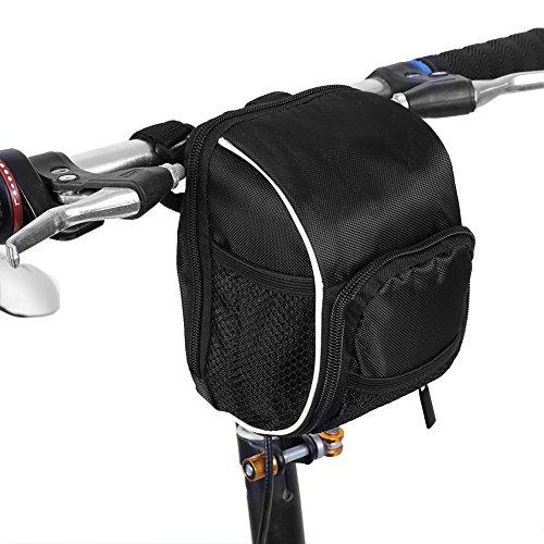 Multifunktions-Fahrrad-Lenkertasche Polyester Fahrrad Vorderer Rahmentasche Mit Regen-Abdeckung Für Radfahren
