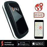 Allround Finder von PAJ GPS Tracker zur Live Ortung von Personen und Fahrzeug KFZ mit bis zu 30 Tagen Akku NEU Gratis SMS App für iOS und Android - SMS-Variante