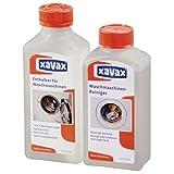 Xavax Waschmaschinen Entkalker Pflege-Set (Entkalker plus Reiniger mit Frische-Duft, 2 x 250 ml)