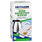 Heitmann Reine Sauerstoff-Bleiche 375g: fŸr hygienische Sauberkeit im Haushalt, hohe Waschkraft mit Soda und Sauerstoff Ð bleicht und entfernt zuverlŠssig Flecken von OberflŠchen und aus Textilien