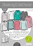 Papierschnittmuster Mix&Match Sweater/Hoodie Schnittmuster und Anleitung als Broschüre Größe 32-58