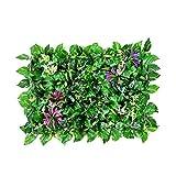 Xiaolin 23,6'x15,7 künstliche Topiary-Heckenpflanze Sichtschutzzaun Bildschirm Grünflächen Geeignet Garten Hinterhof Dekorationen (Farbe : 02)
