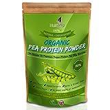 Organisches nicht aromatisiertes Erbsen Proteinpulver - 80% Protein - Kanadische Erbsen - über 30 Portionen- Vegetarier und Veganer - Muskelnaufbau - Sojafrei und Glutenfrei- 1kg Organic von NutriZing